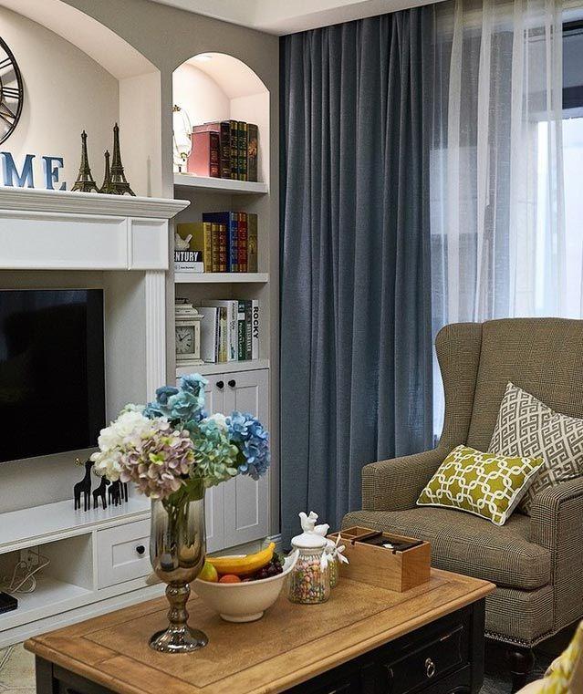 设计师推荐的11款美式客厅 - 装修伙伴网 - 装修伙伴网