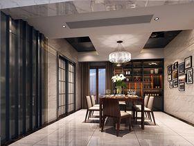 10-15万140平米三室两厅现代简约风格餐厅装修案例