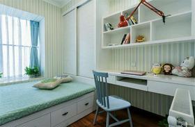 5-10万140平米三室两厅美式风格书房图
