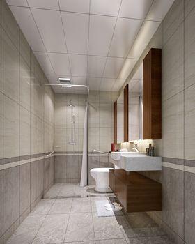 140平米别墅中式风格卫生间设计图