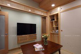 80平米日式风格影音室图