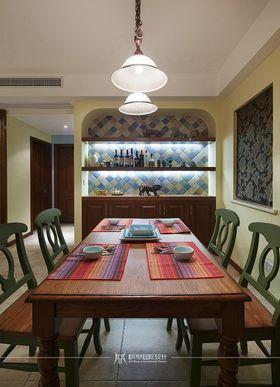 90平米三室两厅美式风格餐厅装修案例