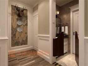 经济型140平米四室两厅北欧风格玄关欣赏图