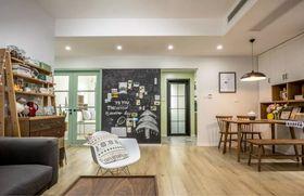 130平米三室两厅混搭风格餐厅欣赏图