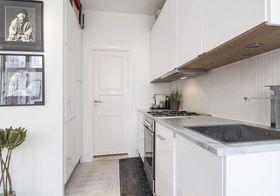 15-20万60平米公寓北欧风格厨房效果图