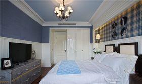 经济型110平米三室两厅混搭风格卧室图片