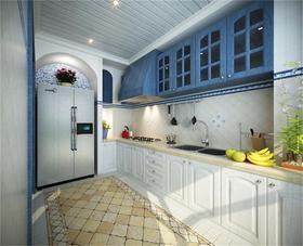 富裕型120平米地中海风格厨房图片