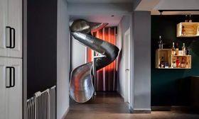 140平米复式混搭风格走廊图片
