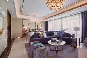 10-15万110平米三室两厅法式风格客厅图