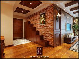 经济型130平米三室两厅美式风格玄关欣赏图