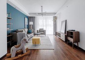 110平米四室两厅现代简约风格客厅图片大全