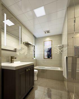 豪华型140平米四室两厅美式风格卫生间欣赏图