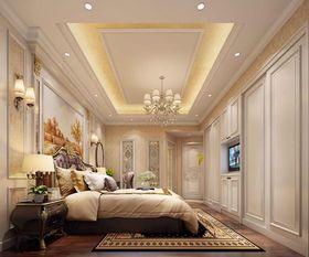 140平米四室一厅欧式风格卧室图
