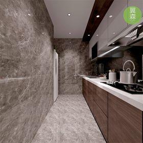 豪华型100平米现代简约风格厨房效果图