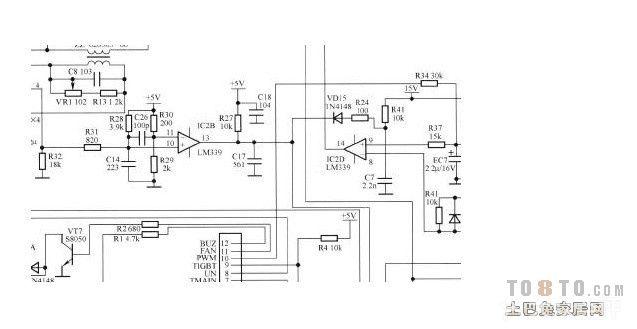 电磁炉电路图有木有