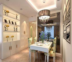 5-10万130平米三室两厅现代简约风格餐厅图