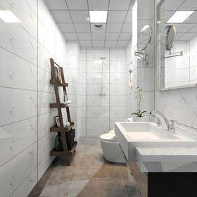 60平米公寓北欧风格卫生间装修案例