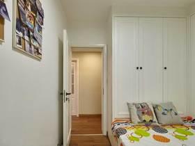 经济型100平米三室两厅混搭风格卧室装修图片大全