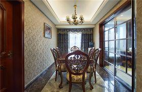富裕型110平米三室两厅中式风格餐厅设计图