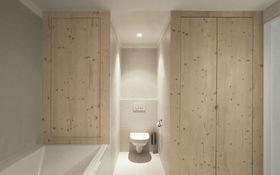 5-10万120平米三室两厅现代简约风格卫生间设计图