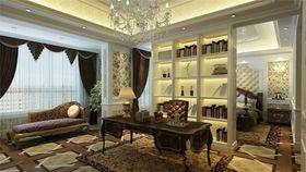 140平米四欧式风格书房欣赏图