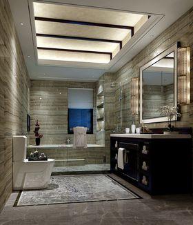 140平米别墅中式风格卫生间图片大全