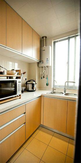 120平米四室两厅现代简约风格厨房装修图片大全