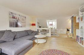 富裕型110平米三室一厅北欧风格客厅装修效果图