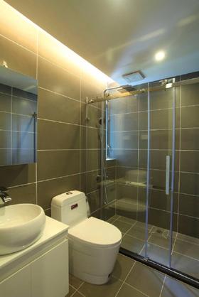 80平米三室兩廳歐式風格衛生間效果圖