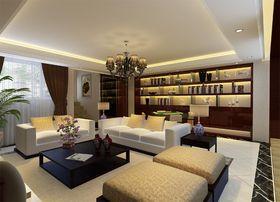 20万以上140平米别墅新古典风格影音室装修案例