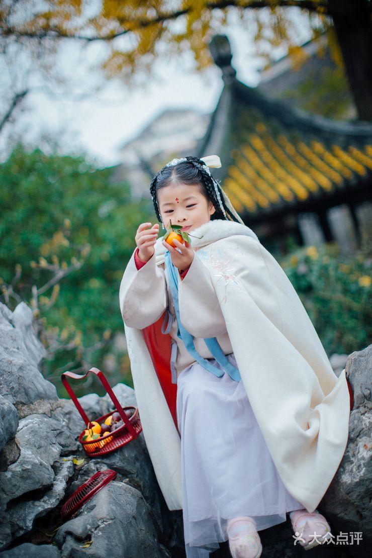 【古风汉服儿童写真客片园林-结婚套餐】-觉嘉汉服馆
