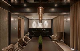 140平米四室一廳混搭風格餐廳裝修圖片大全