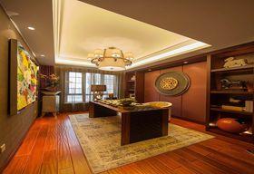 120平米四室两厅混搭风格书房装修案例