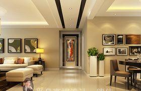 富裕型140平米四室两厅现代简约风格客厅装修案例