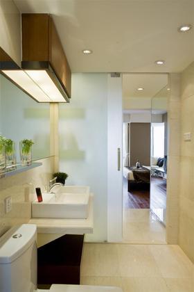 120平米四室两厅现代简约风格卫生间装修图片大全
