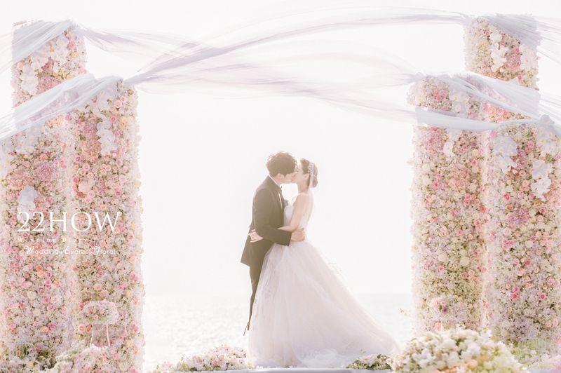 伊能静与秦昊 呈现超梦幻海外婚礼
