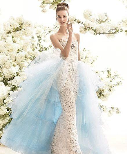 10款新娘可拆式婚纱推荐