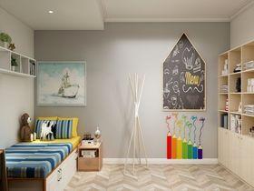 120平米三室一厅北欧风格儿童房图片