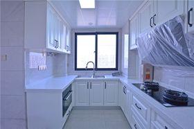 130平米四室两厅混搭风格厨房图片大全