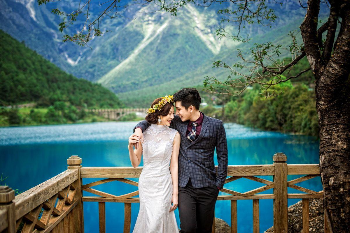 桔摄千岛印象婚纱摄影