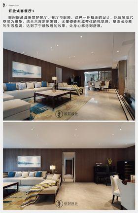 豪華型140平米四室兩廳現代簡約風格餐廳圖片大全