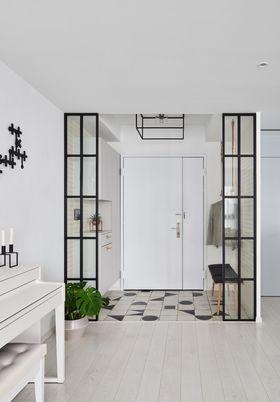130平米四室两厅宜家风格玄关设计图