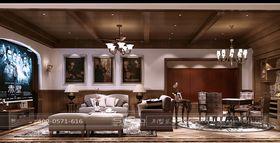 20万以上140平米别墅新古典风格影音室装修图片大全