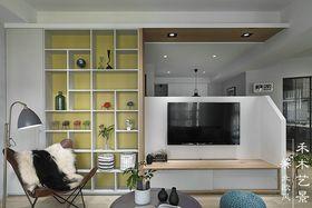 经济型100平米三室两厅北欧风格客厅装修效果图