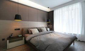 120平米三室一廳現代簡約風格臥室圖片大全