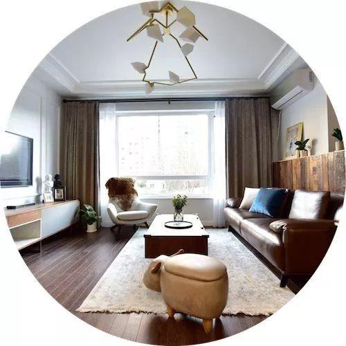 100平有格调有质感无固定风格两室