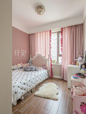 130平米三室两厅美式风格儿童房欣赏图