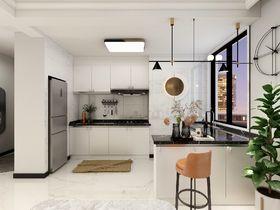 90平米三室两厅混搭风格厨房装修图片大全