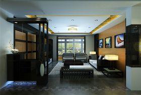 5-10万120平米三室两厅中式风格玄关装修效果图