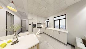 140平米現代簡約風格廚房效果圖